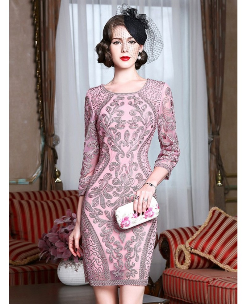 Short Sleeve Dresses for Guest of Wedding