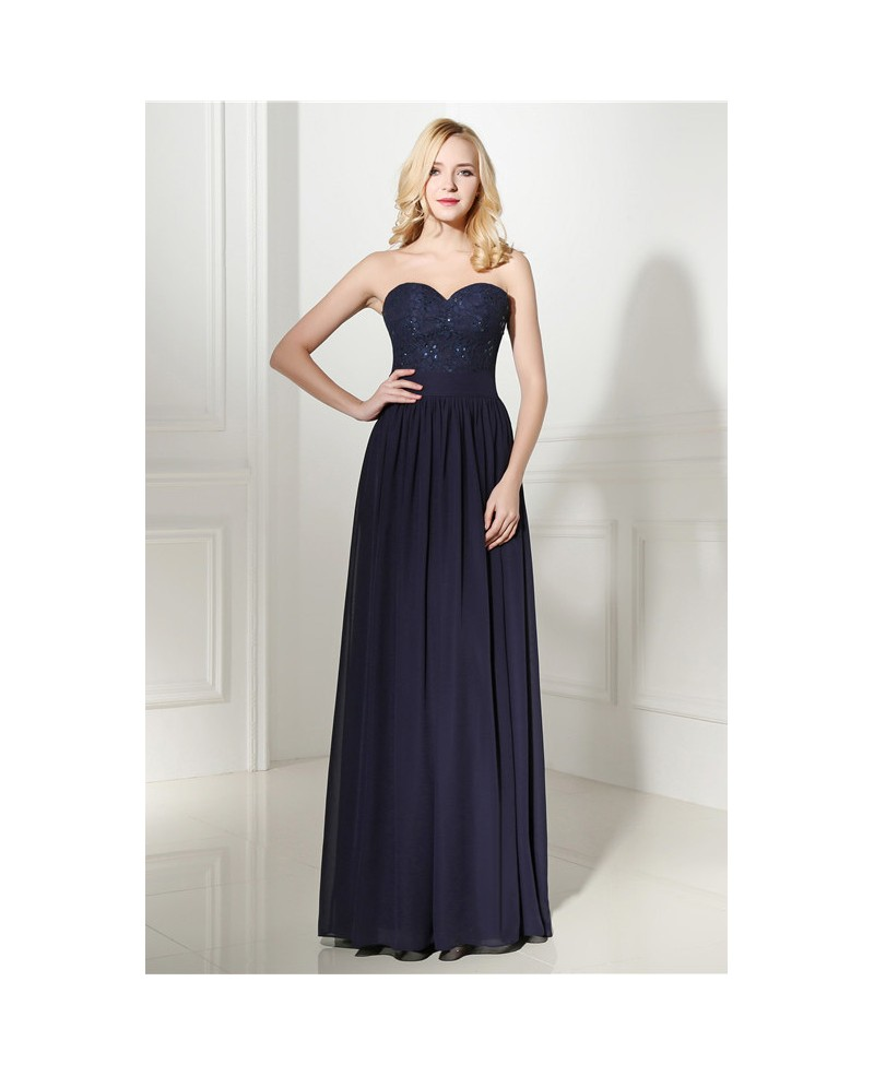 Sheath Sweetheart Floor-length Prom Dress with Beading