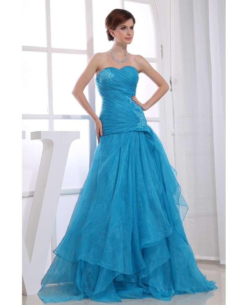 Meramid Sweetheart Floor-length Tulle Wedding Dress With Beading